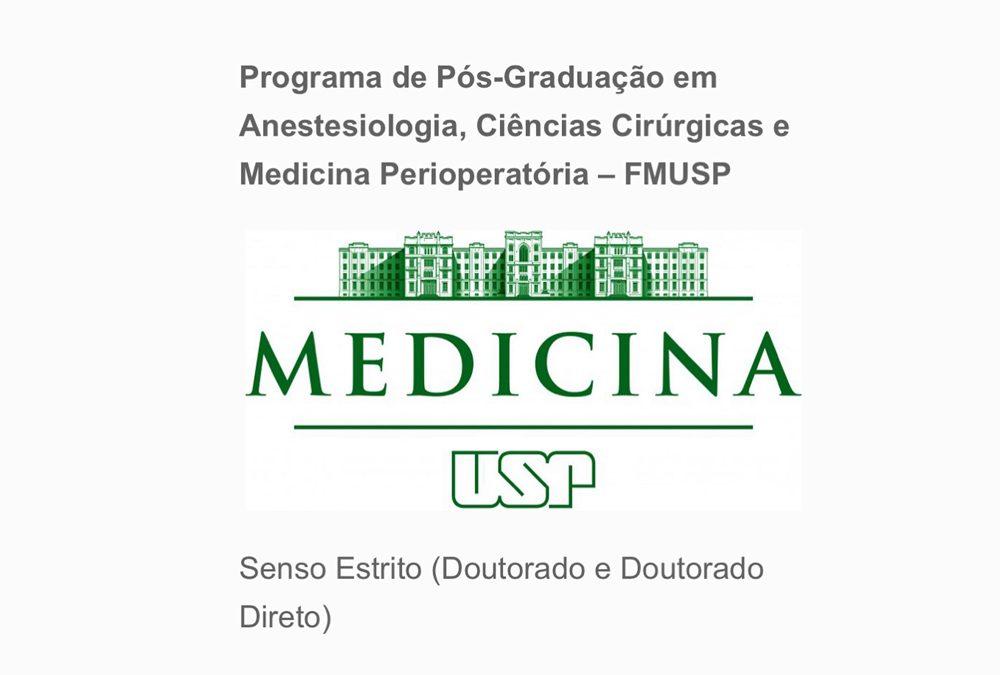 Realização de procedimentos do Doutorado da Faculdade de Medicina da USP